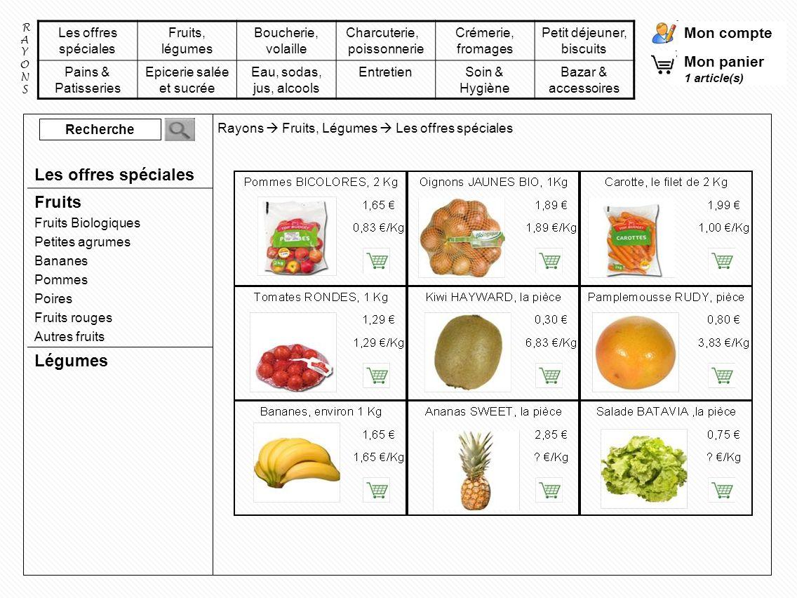 Les offres spéciales Fruits Légumes Fruits Biologiques Petites agrumes