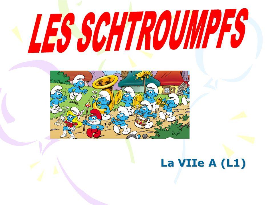 LES SCHTROUMPFS La VIIe A (L1)
