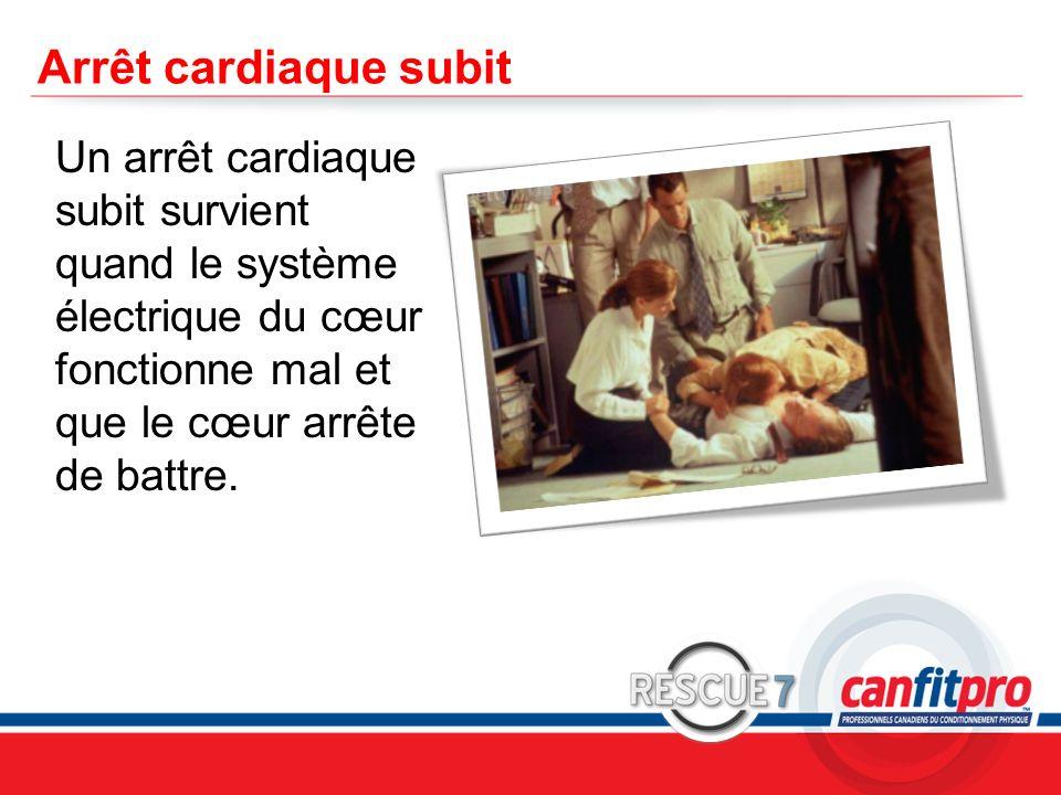 Arrêt cardiaque subit Un arrêt cardiaque subit survient quand le système électrique du cœur fonctionne mal et que le cœur arrête de battre.