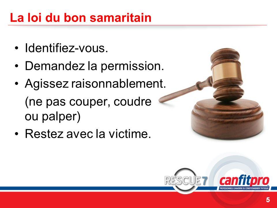 La loi du bon samaritain