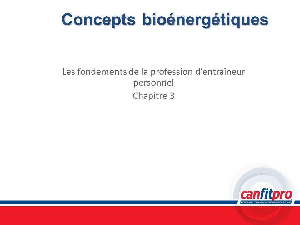 Concepts bioénergétiques