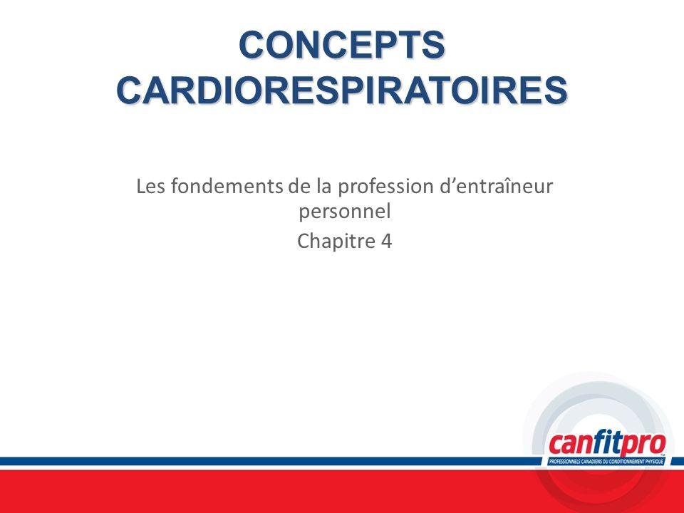 CONCEPTS CARDIORESPIRATOIRES
