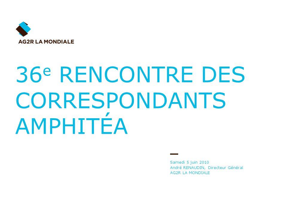36e RENCONTRE DES CORRESPONDANTS AMPHITÉA