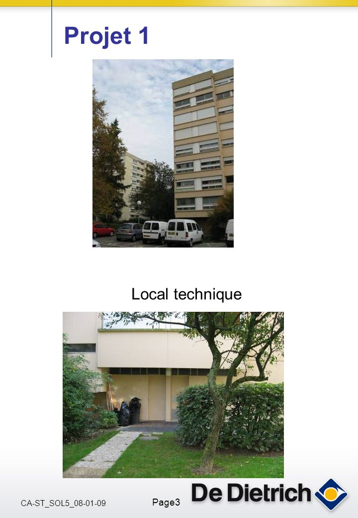 Projet 1 Local technique