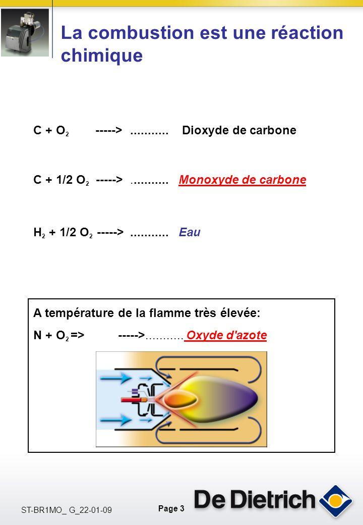 La combustion est une réaction chimique