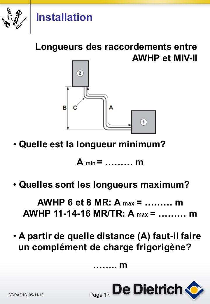 AWHP 11-14-16 MR/TR: A max = ……… m