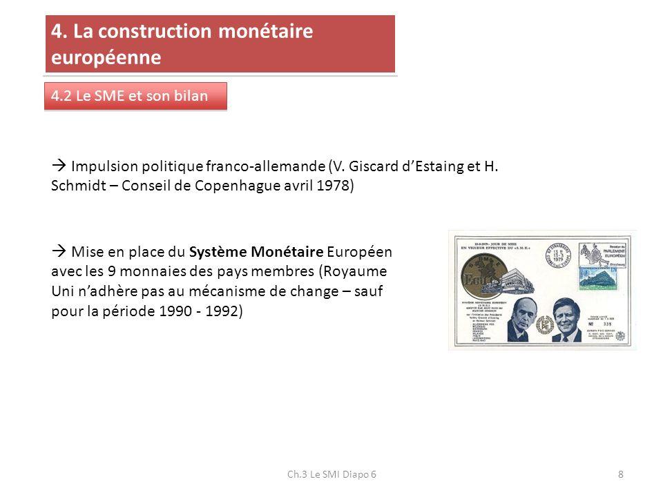 4. La construction monétaire européenne