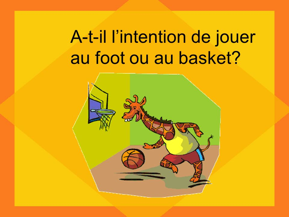 A-t-il l'intention de jouer