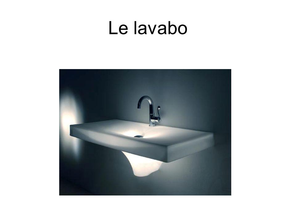 Le lavabo