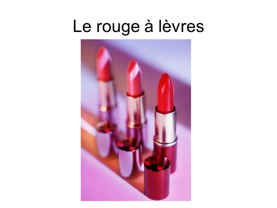 Le rouge à lèvres