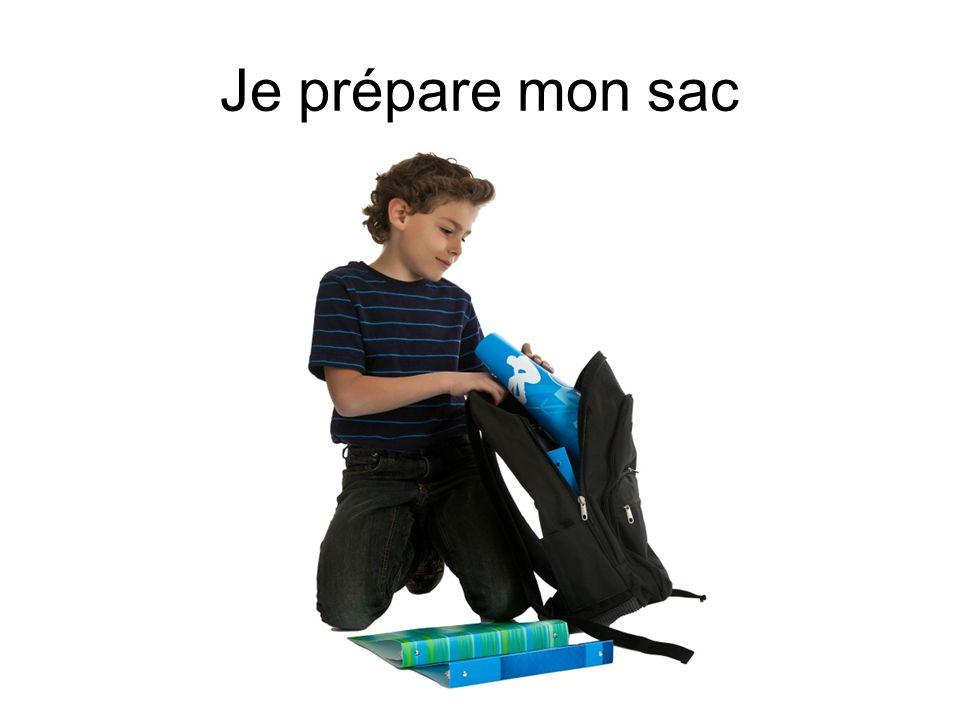 Je prépare mon sac