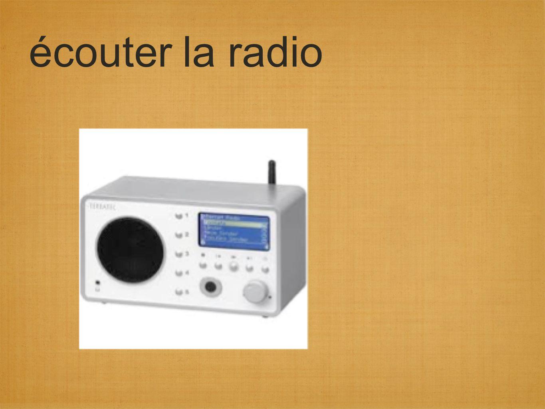 écouter la radio