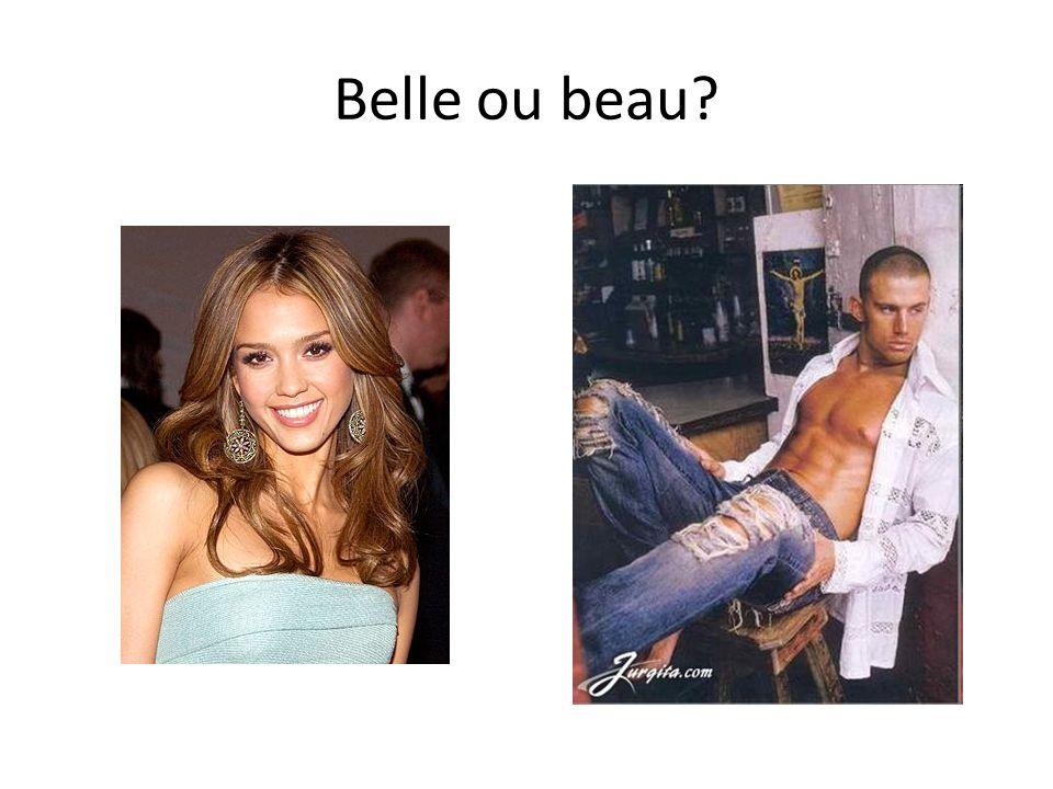 Belle ou beau