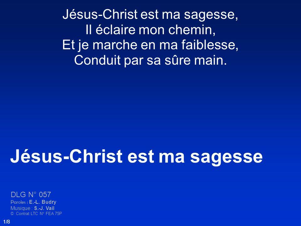 Jésus-Christ est ma sagesse