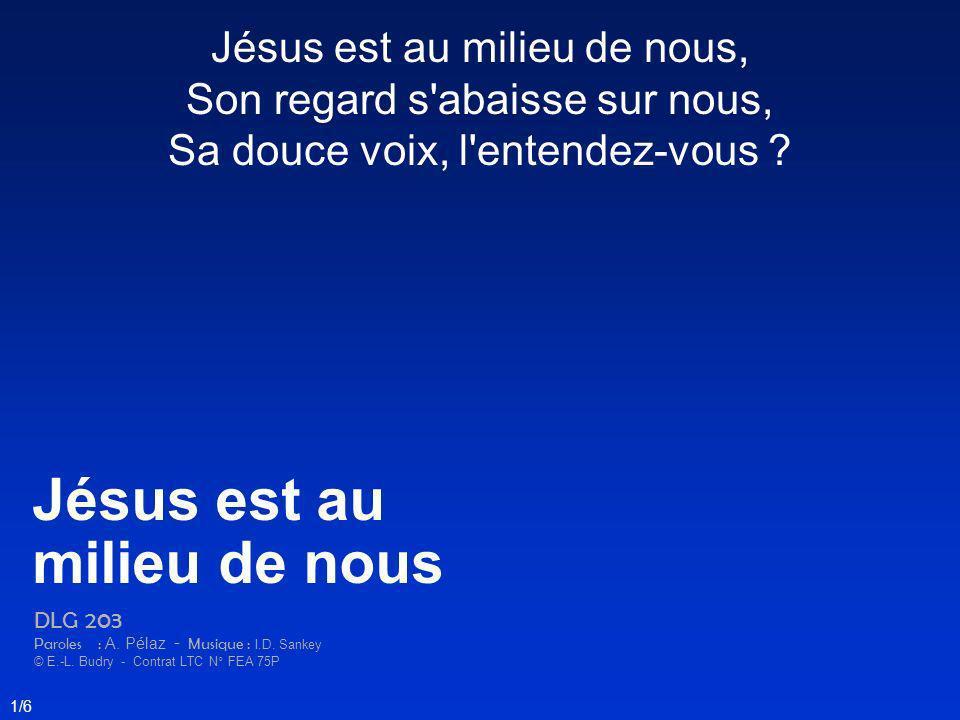 Jésus est au milieu de nous