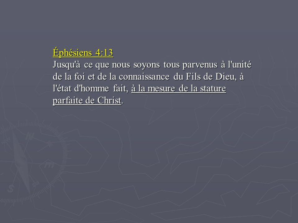 Éphésiens 4:13