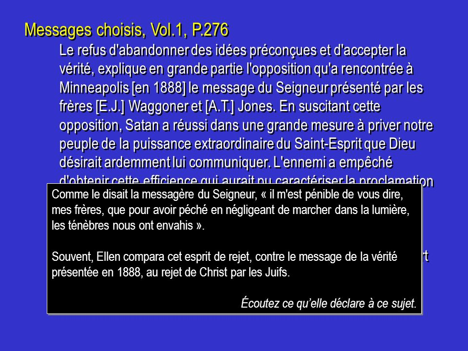 Messages choisis, Vol.1, P.276