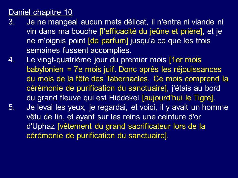 Daniel chapitre 10