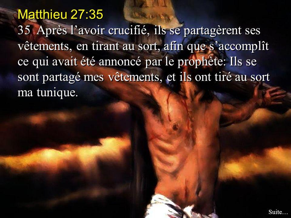 Matthieu 27:35