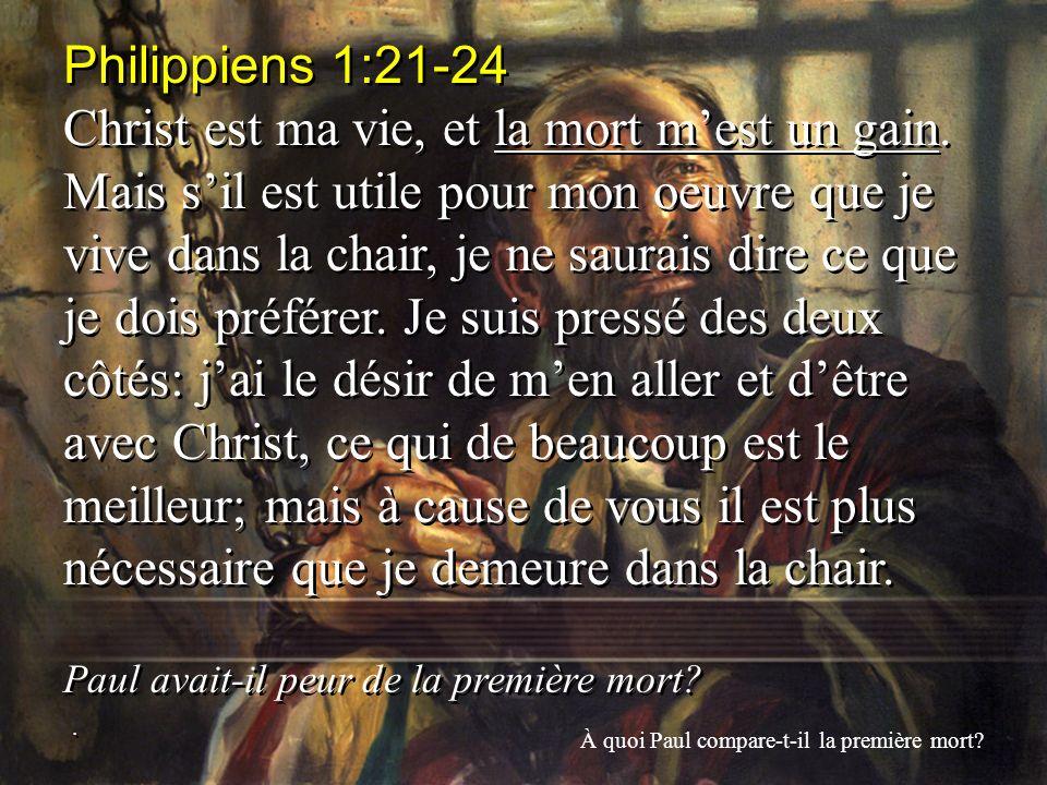 Philippiens 1:21-24
