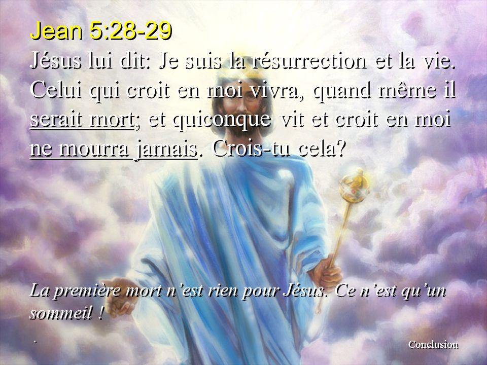 Jean 5:28-29