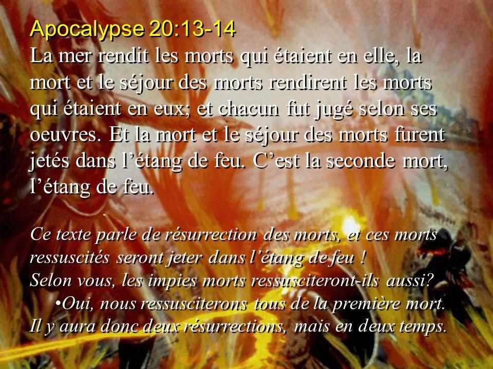 Apocalypse 20:13-14