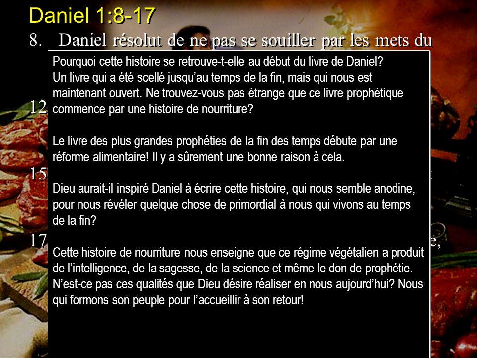 Daniel 1:8-17
