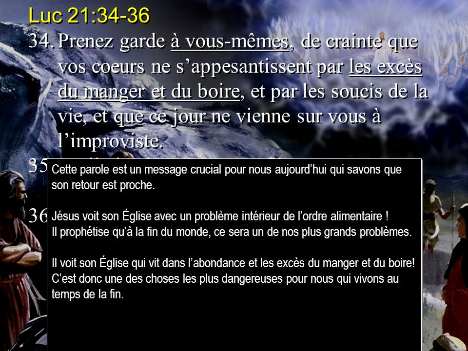 Luc 21:34-36