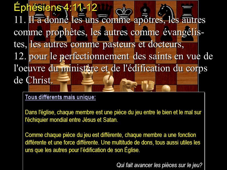 Éphésiens 4:11-12