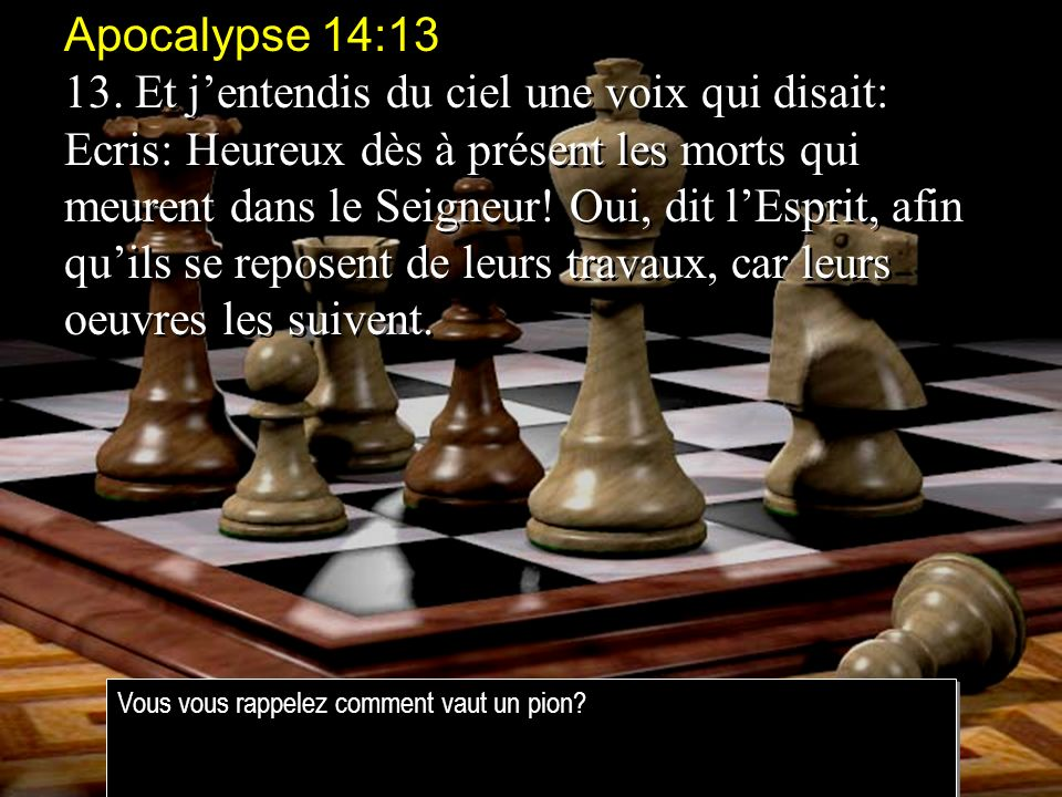 Apocalypse 14:13