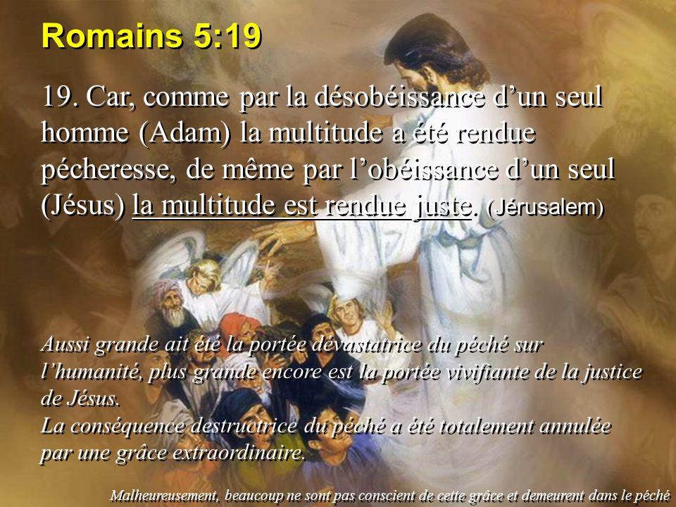 Romains 5:19