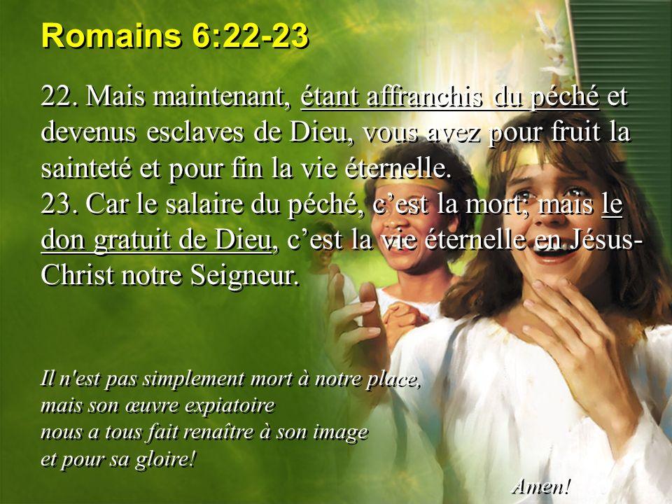 Romains 6:22-23