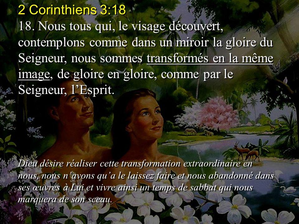 2 Corinthiens 3:18