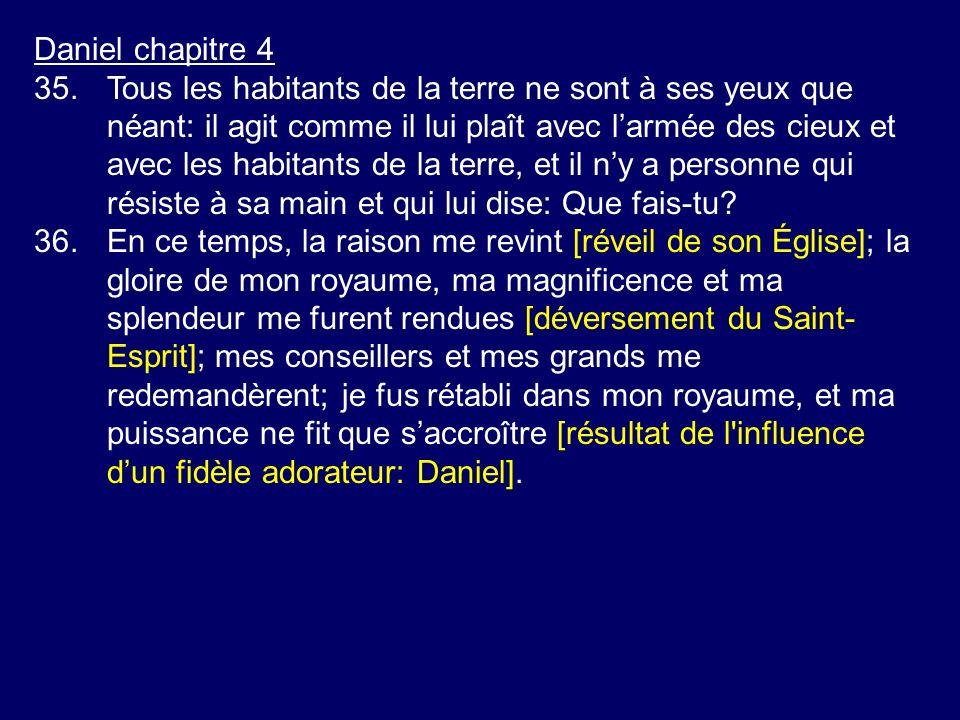 Daniel chapitre 4