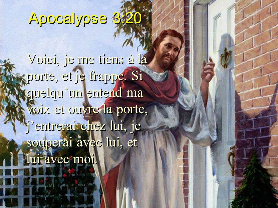 Apocalypse 3:20