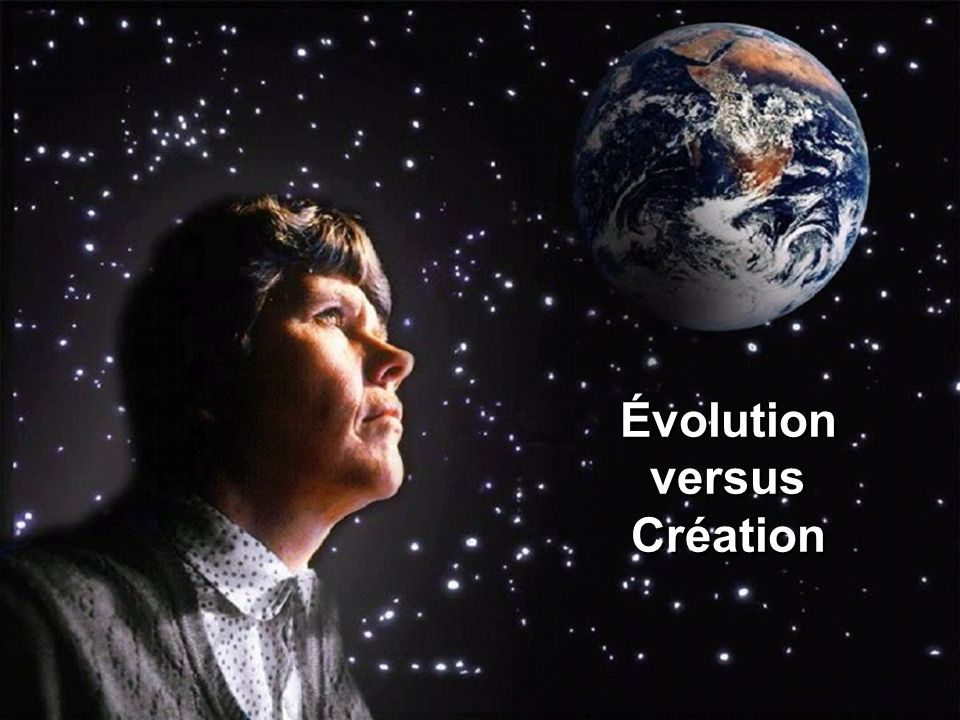 Évolution versus Création