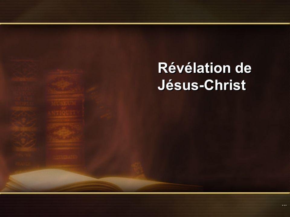 Révélation de Jésus-Christ
