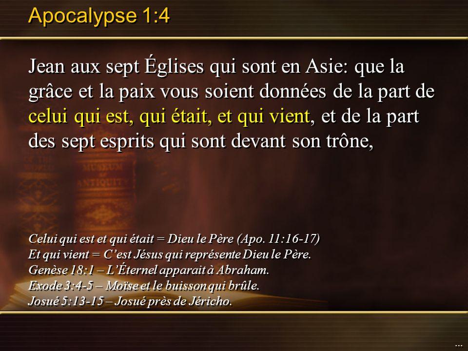 Apocalypse 1:4