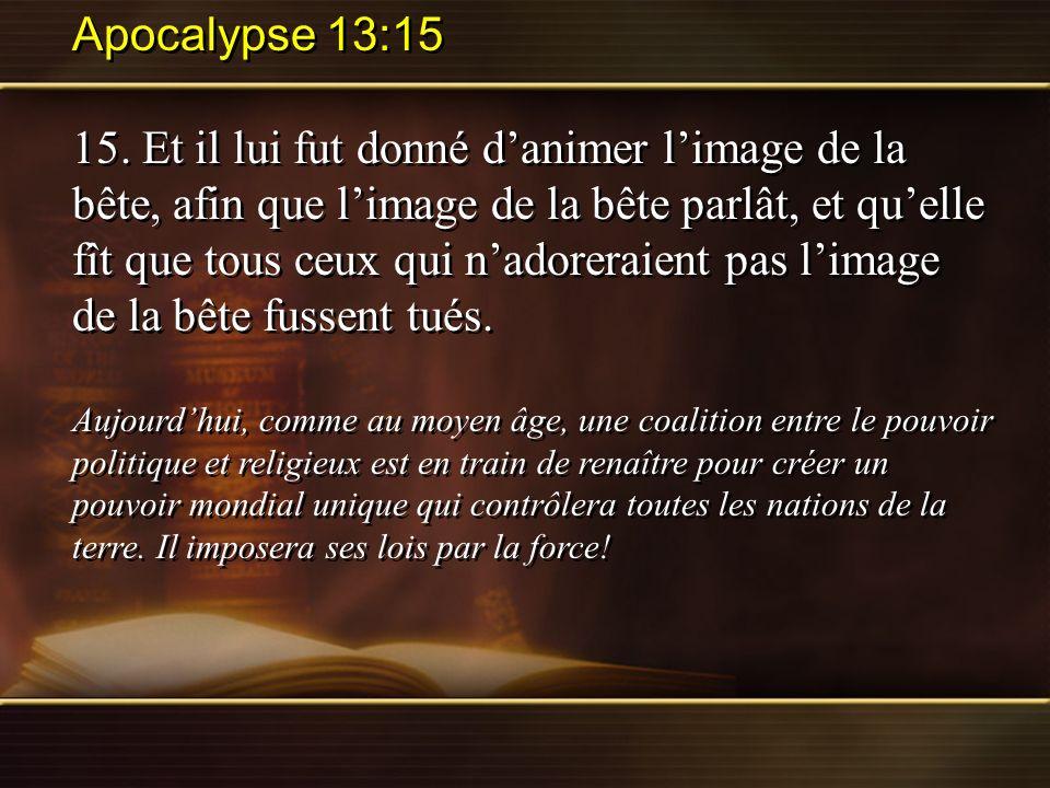 Apocalypse 13:15