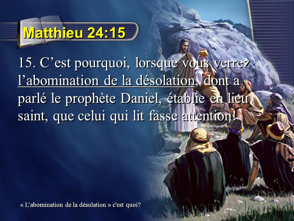 Matthieu 24:15