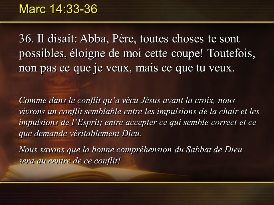 Marc 14:33-36