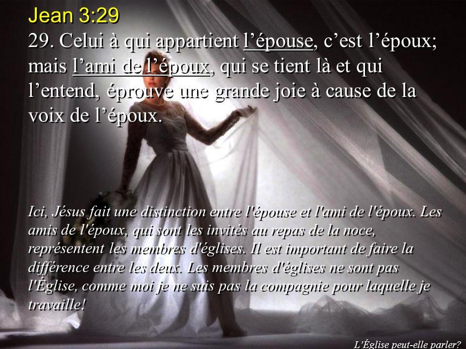 Jean 3:29