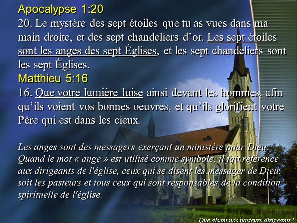 Apocalypse 1:20