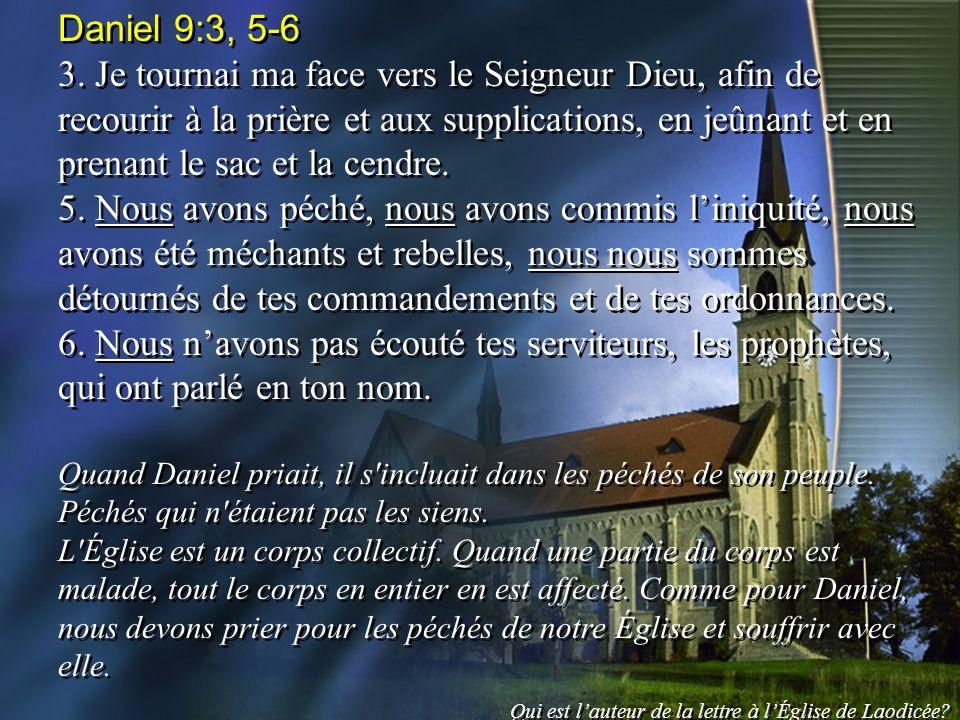 Daniel 9:3, 5-6