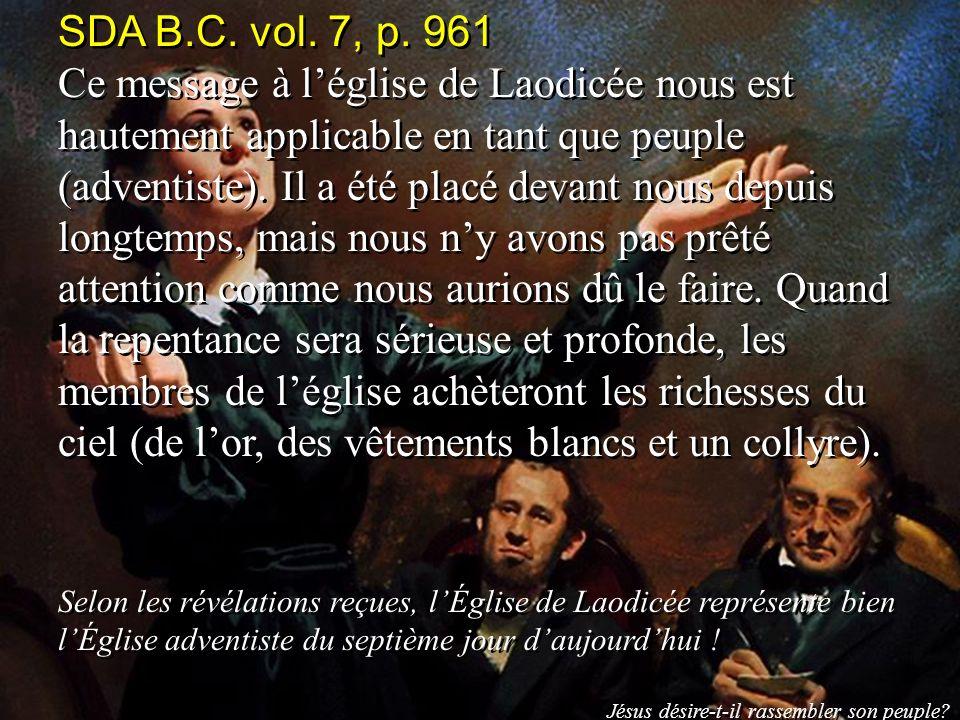 SDA B.C. vol. 7, p. 961
