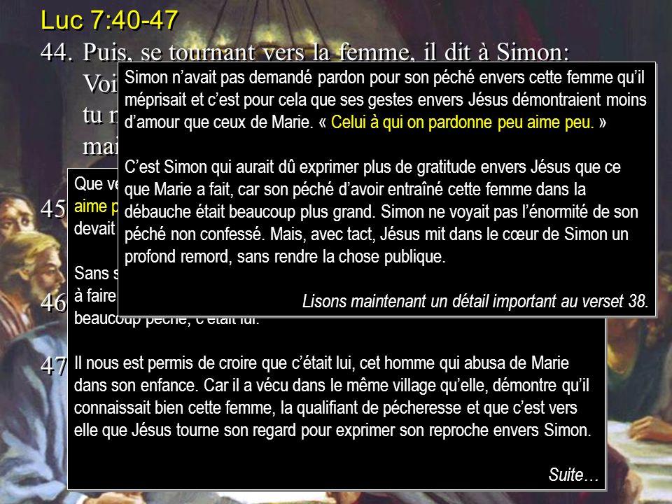 Luc 7:40-47