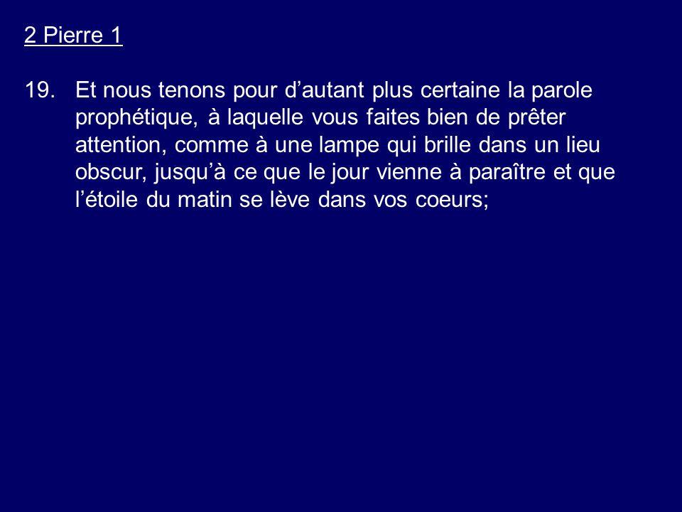 2 Pierre 1