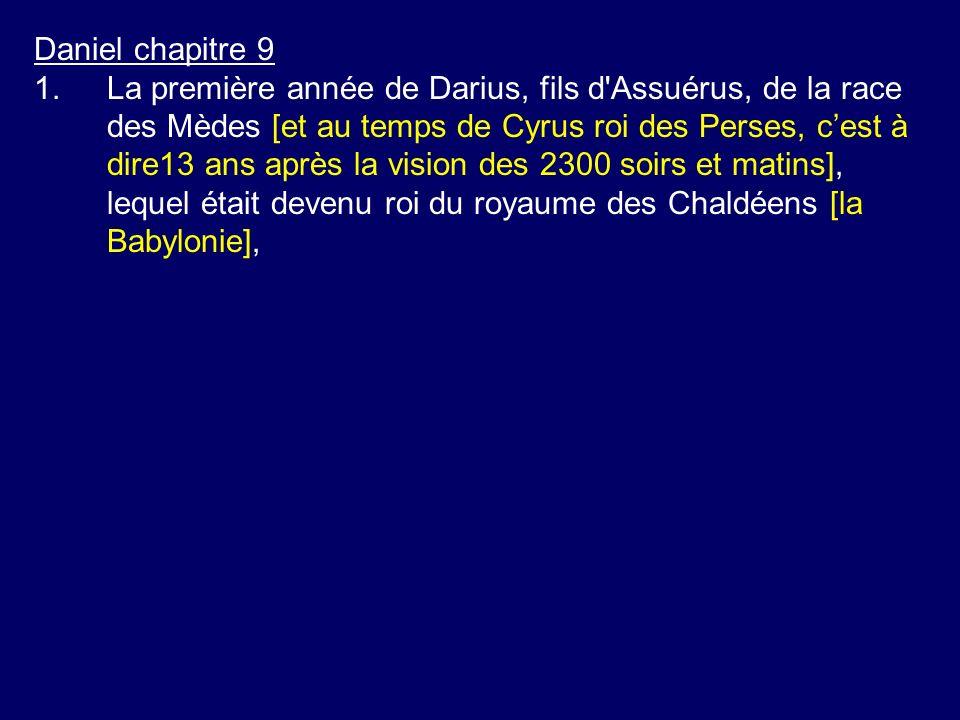 Daniel chapitre 9