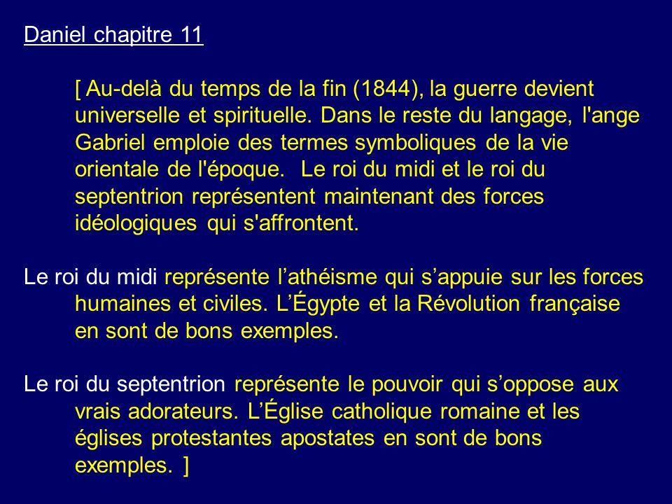 Daniel chapitre 11