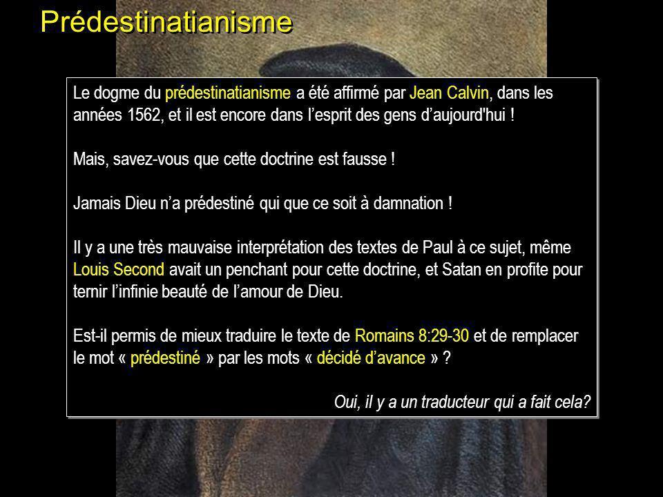 Prédestinatianisme